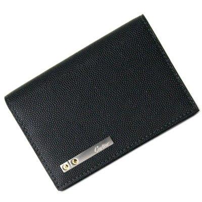 Cartier 【カルティエ】 L3000771 ブラック オープン開閉式カードケース Santos 名刺入れ