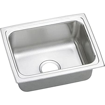 Elkay brand DLFR251910 Lustertone Deep Bowl Single Basin Kitchen sink