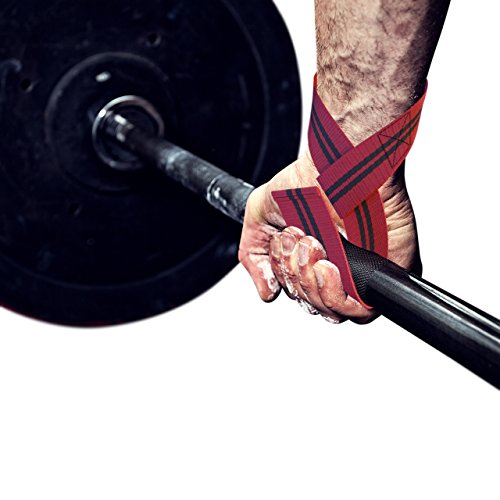 Lifting Straps - For Bodybuilding & All Types of Strength Workout Lifts - Weight - Power - Olympic - DeadLifts - Kettlebell - Bonus Lifting Technique Ebook (Iphone Kettle compare prices)