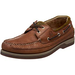 Sperry Top-Sider Men\'s Mako 2 Eye Boat Shoe, Coffee/Fawn, 13 M US