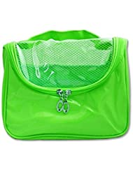 Glive's Multi-function Cosmetic Make Up Toiletries Bag Organizer Travel Bag ( Green )