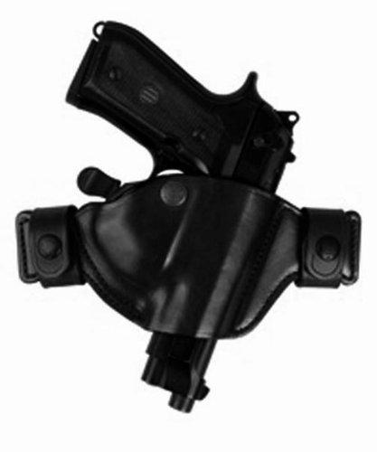 Bianchi Size 11/13 84 Snaplok Belt Slide Holster Fits Glock 17/22 19/23 26/27 (Black, Right Hand)
