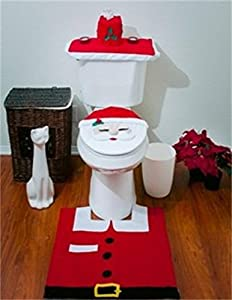 Imperial Home Christmas Set (Large(Fit most of all), Red#) by asc