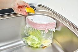 Evana Strong Sucker Garbage Bag Holder,Useful Kitchen Gadgets Creative Kitchen Sink Clip-on Trash Storage Rack