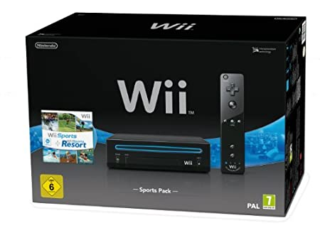 Nintendo Wii Sports Pack, Konsole - Limited Edition