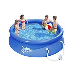 Summer Escapes 10 39 X 30 Easy Set Swimming Pool Patio Lawn Garden