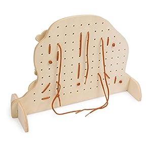Legler Threading Board Animals Preschool Learning Toy