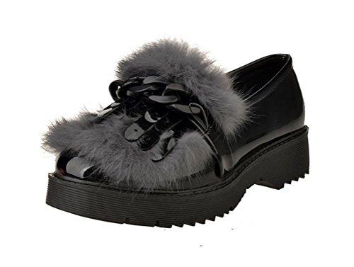 christmas-tmates-womens-retro-cute-tassels-slip-on-faux-fur-decorated-low-heel-glazed-pu-loafers-75-