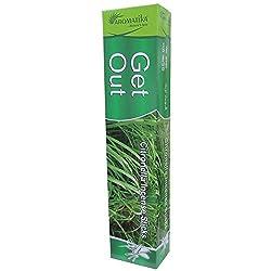 Aromatika® Get Out Natural Mosquito Repellent Citronella Incense Sticks (Agarbatti)