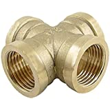 Banggood Cross 1/2PT Female To Female Thread Pipe Adapter Fitting