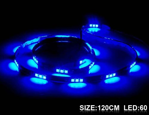 120 Cm 60 X 5050 Led Blue Light Flexible Led Lighting Strip (Blue)