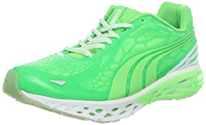 PUMA Men's BioWeb Elite Running Shoe Glow Cross-Training Shoe,Fluo Green,11 D US