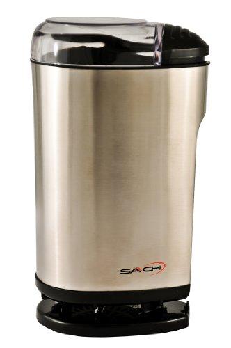 Saachi Stainless Steel Coffee Grinder / Spice Grinder, Model SA-1440