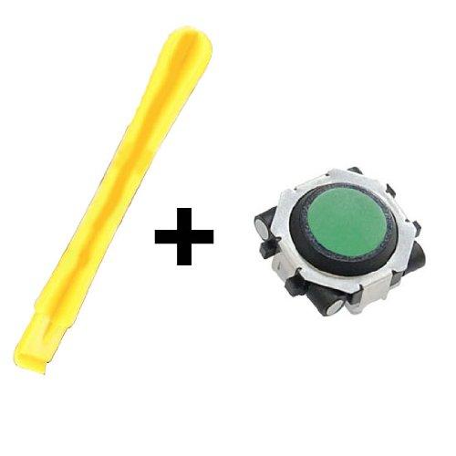 Blackberry 8900 Javelin Trackball (Green) + Blackberry Opening Repair Pry Tool.