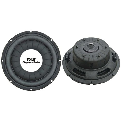 PYLE PRO PLWCH10D Chopper Series Shallow-Mount Subwoofer (10