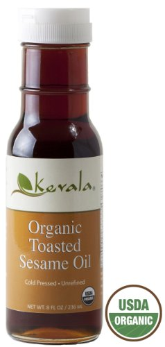 Kevala Organic Toasted Sesame Oil 8oz