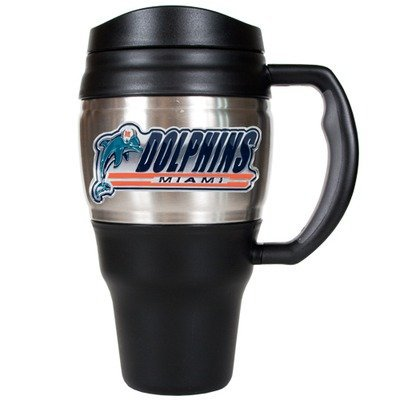 Nfl Miami Dolphins 20-Ounce Travel Mug