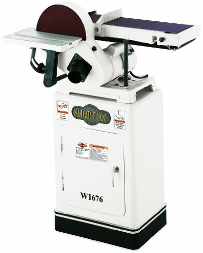 Read About Shop Fox W1676 6-Inch by 10-Inch Combination Sander