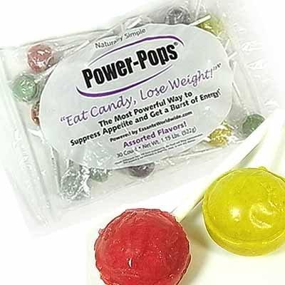 Power Pops フーディア ダイエット キャンディ 30個パック
