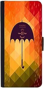 Snoogg Retro Umbrella Symbol On Hipster Background Made Of Triangles Retro Ba...