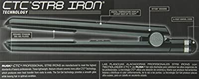 Rusk Professional Str8 Titanium-Infused Ceramic Flat Iron