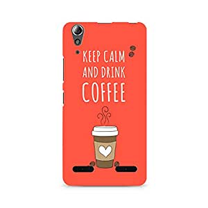 Mobicture Keep Calm and have Cofee Premium Printed Case For Lenovo A6000