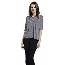 SbuyS Classic Blue Stripes Top