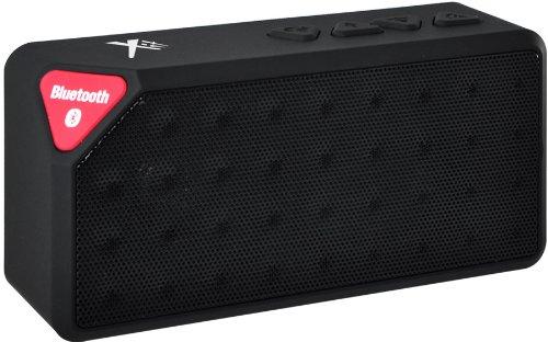 Xit Axtrecbk Rectangular Bluetooth Speaker, Black