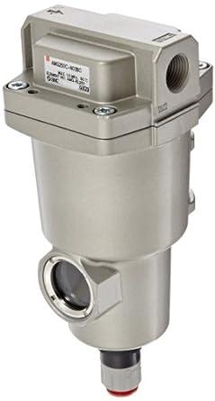"SMC AMG250C-N03BC Water Separator, N.C. Auto Drain, 750 L/min, 3/8"" NPT, Mounting Bracket"