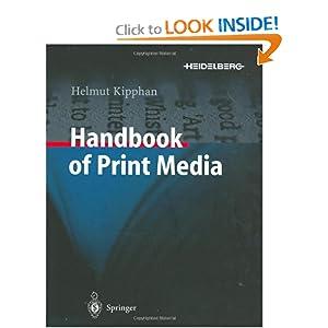 Handbook of Print Media - Unknown