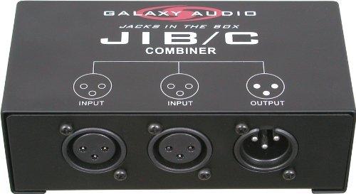 Combinador de Audio Galaxy Audio JIBC XLR