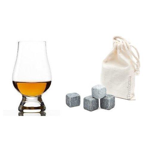 Ensemble de 6 verres pour whisky avec pierres réfrigérés