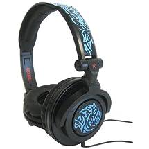 MAXELL 190265 - AMPB AMPlified Heavy Bass Headphones (Tribal Blueglow)