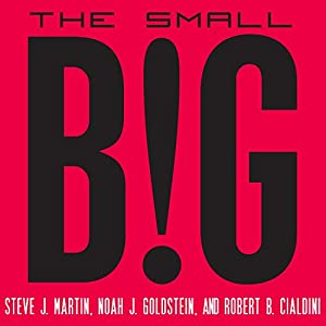 The Small Big: Small Changes That Spark Big Influence (       UNABRIDGED) by Steve J. Martin, Noah Goldstein, Robert Cialdini Narrated by Mike Chamberlain