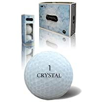 Crystal Soft Feel - White - Golf Balls