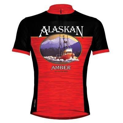 Primal Wear Men's Alaskan Amber Ale Cycling Jersey - ALAMJ10M