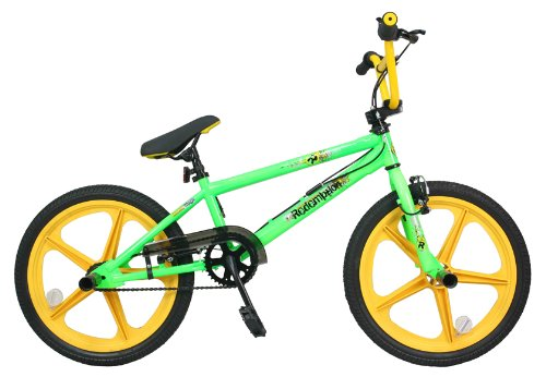 Redemption Mag Wheel Boys BMX Bike - Neon Green/Yellow, 20 inch