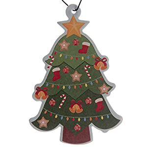 Christmas Tree Shaped Pine Scented Air Freshener PDS
