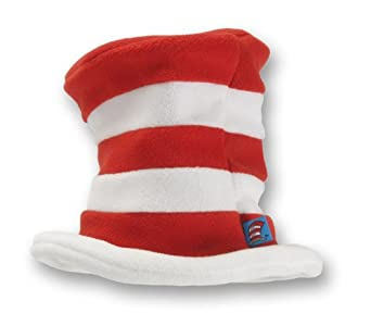 elope Toddler Cat in the Hat, Red/white, One Size
