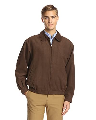Cutter & Buck Men's Ultrasuede City Bomber