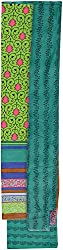 YR Traders Women's Cotton Straight Unstitched Dress Material (YR010, Green, Free Size)
