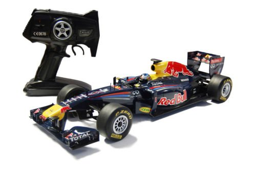 1/12 Scale 2011 Sebastian Vettel Red Bull RB7 Radio Remote Control Formula One F1 Racing Car R/C Ready to Run (All Batteries including)