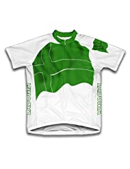 Ladonia Flag Short Sleeve Cycling Jersey for Women