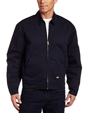 Dickies Men's Insulated Eisenhower Jacket, Dark navy, Small