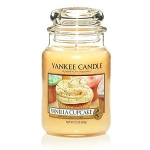 Large Yankee CAndle Jar Vanilla Cupcake from Yankee Candles