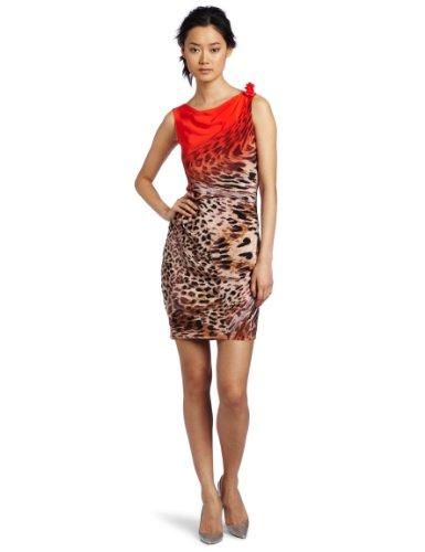Yoana Baraschi Women's Rouge Leopard Shift Dress