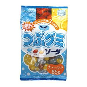 Amazon.co.jp: 春日井 つぶグミソーダ 85g ×6個: 食品&飲料