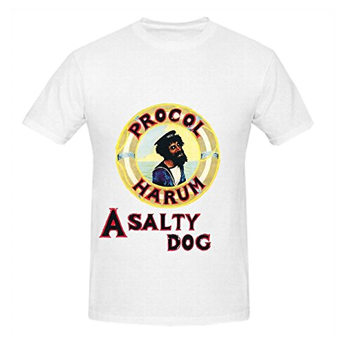 procol-harum-a-salty-dog-jazz-mens-round-neck-music-shirts-white