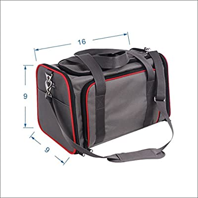 Petsfit Comfort Expandable Foldable Travel Dogs Carriers Pet Carrier Soft-sided