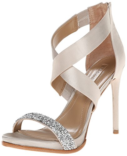 BCBGMAXAZRIA Women's Elyse Dress Sandal, Dust, 8.5 M US